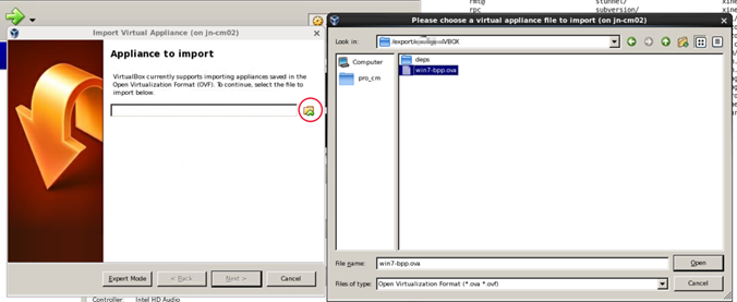 virtualbox-setting